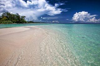 インドネシアの海辺